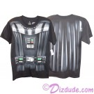 Disney Star Wars Darth Vader Armour Adult T-Shirt (Tshirt, T shirt or Tee) Printed Front & Back © Dizdude.com
