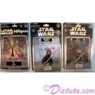 Disney Star Wars Weekend 2012 Complete Set of 3 Action Figures © Dizdude.com