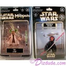 "Rizzo as Jedi Master Yoda ""Limited Release"" 2012 & Donald Duck as Darth Maul ""Sneak Preview"" Series 6 figure"" event packaging LE  600 ©Dizdude.com"