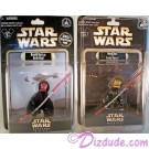 """Donald Duck as Savage Opress LE 2012 & Donald Duck as Darth Maul """"Sneak Preview"""" Series 6 figure"""" event packaging LE  600 © Dizdude.com"""