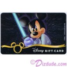 Star Wars Gift Card with Mickey Mouse as Luke Skywalker ~ Disney Star Wars Weekends 2013 © Dizdude.com