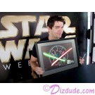 "Sam Witwer after autographing and holding the ""So Be It, Jedi"" ~ Disney artist Color Illustration ~ © Dizdude.com"