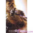 Disney Star Wars Weekends 2015 Week 5 Chewbacca Passholder Poster Event Exclusive © Dizdude.com