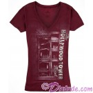 The Hollywood Tower Hotel Womans Tshirt (Tee, Tshirt or T shirt) ~ Twilight Zone Tower of Terror ride