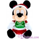 Disney Santa Mickey Baby's First Christmas 9inch Plush  © Dizdude.com