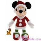 Disney Santa Minnie Mouse 15 inch Plush © Dizdude.com