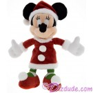 Disney Santa Minnie Mouse 7 inch Plush © Dizdude.com