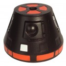 R0 Black Astromech Droid Dome ~ Series 2 from Disney Star Wars Build-A-Droid Factory © Dizdude.com