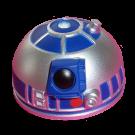 Silver & Blue R2 Dome Part ~ Disney Star Wars Astromech Build-A-Droid Factory © Dizdude.com