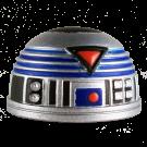 Blue R7  Dome Part ~ Disney Star Wars Astromech Build-A-Droid Factory © Dizdude.com