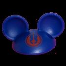 Blue Mickey Mouse Ears Hat Part ~ Disney Star Wars Astromech Build-A-Droid Factory © Dizdude.com