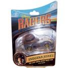 Indiana Jones Disney Racer Die-Cast Metal Body Race Car 1/64 Scale © Dizdude.com