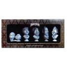 Disney Haunted Mansion Singing Ghosts Busts 5 piece Ornament Set © Dizdude.com