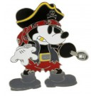 Disney Pirate Mickey Mouse Pin © Dizdude.com