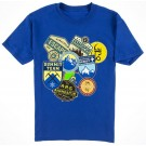 VINTAGE Disney Animal Kingdoms Expedition Everest Patches Youth T-Shirt (Tee, Tshirt or T shirt)