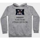 Yo Ho! Yo Ho! A Pirates Life For Me Fantasy Hoodie - Sweatshirt - Long Sleeved T-shirt © Dizdude.com