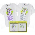 Figment Adult T-shirt (Tee, Tshirt or T shirt) ~ Changes COLOR When Exposed To Sunlight - Disney Epcot International Flower & Garden Festival 2017
