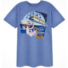 Passholder Adult T-shirt with Figment (Tee, Tshirt or T shirt) - Disney Epcot International Flower & Garden Festival 2017