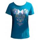 Flower Minnie Ears Adult T-shirt (Tee, Tshirt or T shirt) - Disney Epcot International Flower & Garden Festival 2017