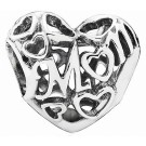 Disney Pandora Openwork Motherly Love Silver Charm - Mothers Day Collection 2015