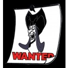 Walt Disney World Cast Lanyard Series 3 ~ Wanted Posters Jafar Pin © Dizdude.com