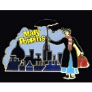 Mary Poppins Over Skyline Pin Autographed by Disney Artist Jeff Ebersohl © Dizdude.com