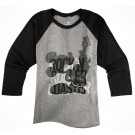 Rock 'N' Roller Coaster Mickey Raglan Adult T-shirt (Tee, Tshirt or T shirt) - Disney Hollywood Studios