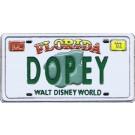 Walt Disney World - Cast Lanyard Series 1 - Dopey License Plate Pin © Dizdude.com