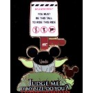 Yoda Cant Ride the Star Tours Ride Pin
