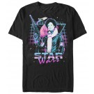 Val 80's Style Adult T-Shirt ~ SOLO A Star Wars Story