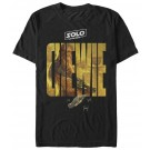 Chewie Logo Adult T-Shirt ~ SOLO A Star Wars Story