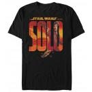 Han Logo Adult T-Shirt ~ SOLO A Star Wars Story