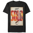 Han Poster Adult T-Shirt ~ SOLO A Star Wars Story
