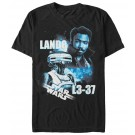 L3-37 & Lando Adult T-Shirt ~ SOLO A Star Wars Story
