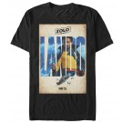 Lando Poster Adult T-Shirt ~ SOLO A Star Wars Story