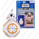 Star Wars The Force Awakens BB-8 Astromech Droid - Disney World DROID FACTORY Action Figures 3¾ Inch © Dizdude.com