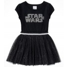 Star Wars Logo Black Youth Dress - Disney Star Wars © Dizdude.com
