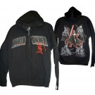 Darth Vader Sketch Hoodie Adult Printed Front and Back - Disney Star Wars © Dizdude.com