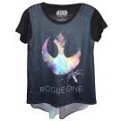 Rogue One Rebel Hi-Lo Adult T-Shirt (Tshirt, T shirt or Tee) - Disney's Star Wars © Dizdude.com
