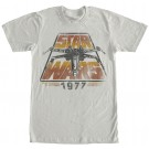 Disney Star Wars 1977 Vintage Styled Adult T-Shirt