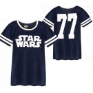 Disney Star Wars 77 Jersey Mesh Adult T-Shirt (Tshirt, T shirt or Tee) © Dizdude.com