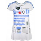 R2-D2 Adult Mesh Costume T-Shirt (Tee, Tshirt or T shirt) - Disney Star Wars © Dizdude.com