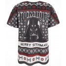 Disney Star Wars Ho Ho Ho Darth Vader Merry Sithmas Holiday Adult T-Shirt (Tshirt, T shirt or Tee) © Dizdude.com