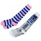 R2-D2 Set of 2 Adult Socks ~ Disney Star Wars