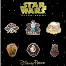 Star Wars The Force Awakens 6 Pin Booster Set © Dizdude.com