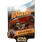 Star Wars The Force Awakens Disney Racer Kylo Ren die cast metal body race car 1/64 scale © Dizdude.com