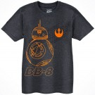BB-8 Sketch Youth T-Shirt (Tshirt, T shirt or Tee) - Disney Star Wars The Force Awakens  © Dizdude.com