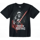 Kylo Ren Crush The Resistance Youth T-Shirt (Tshirt, T shirt or Tee) - Disney Star Wars: The Force Awakens © Dizdude.com