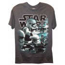 Side Steppers Adult T-Shirt (Tshirt, T shirt or Tee) from Disney Star Wars: The Force Awakens © Dizdude.com