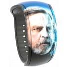 Star Wars: The Last Jedi Luke Skywalker Graphic Magic Band 2 - Disney World Exclusive © Dizdude.com
